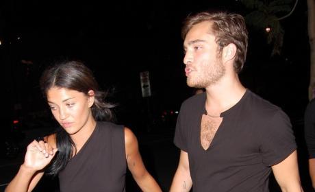 Ed Westwick and Jessica Szohr Pic