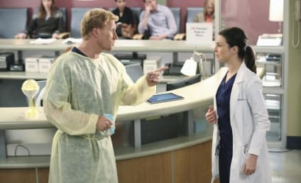 Grey's Anatomy Photo Preview: Angry with Amelia
