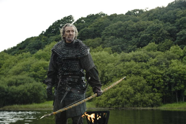 "Clive Russell as Brynden ""The Blackfish"" Tully"