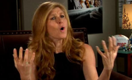 Connie Britton FNL Interview