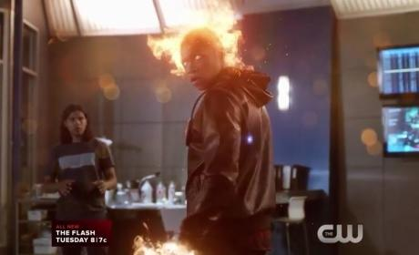The Flash Season 2 Episode 4 Promo: Another Fiery Match