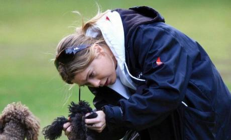 Ellen Pompeo and Dogs