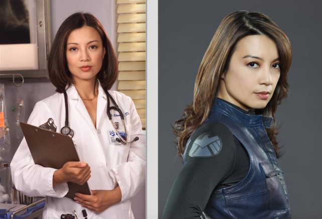 Ming na wen then and now agents of shield