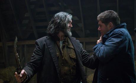 First Blade Attack - Supernatural Season 10 Episode 14