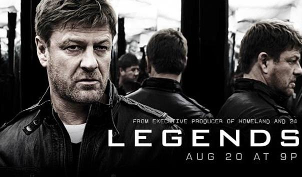 Legends, TNT, Wednesday, August 13
