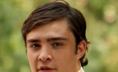 Ed Westwick Cleans Up Well