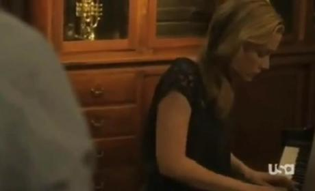 Covert Affairs Clip: Playing Piano