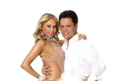 Donny Osmond and Kym Johnson