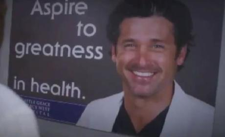 Grey's Anatomy Sneak Peek: That's a Big Poster!