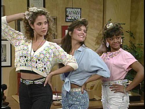 Jessie Spano, Kelly Kapowski and Lisa Turtle