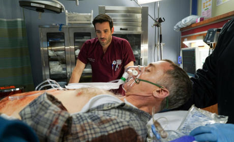 Dr. Rhodes Prepares to Treat Herrmann - Chicago Fire Season 4 Episode 10