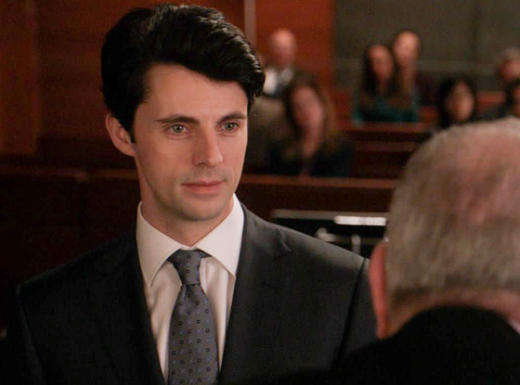 Matthew Goode on The Good Wife