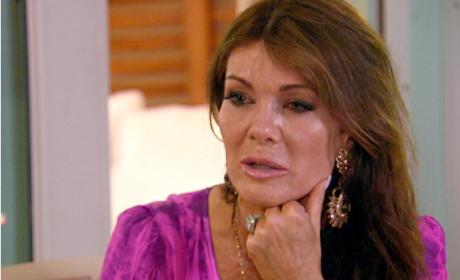 Lisa Vanderpump in Tears