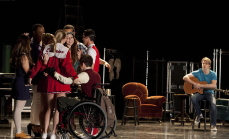Glee Group Hug