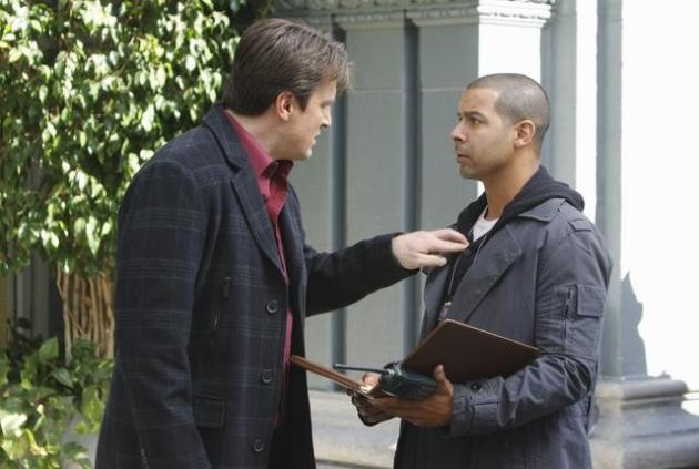 Rick Castle and Javier Esposito
