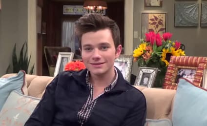 Chris Colfer Teases Dramatic Glee Finale, Looks Ahead to Season 6