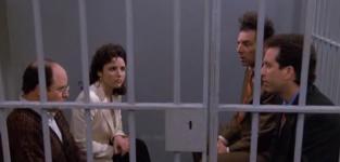 Seinfeld Finale Scene