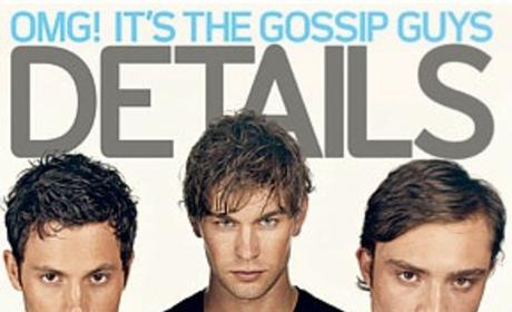 Gossip Girl Guys in Details Magazine