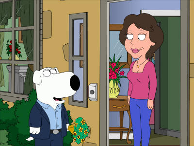 Old Dates Family Brian Guy Woman