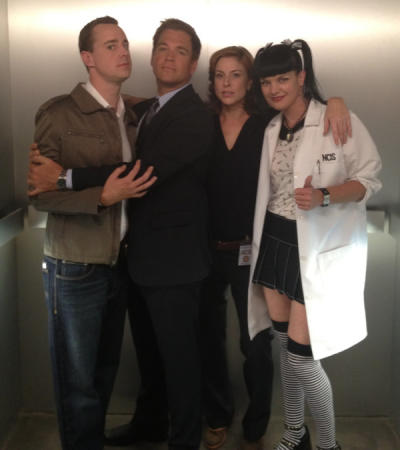 Diane Neal, NCIS Cast Set Photo