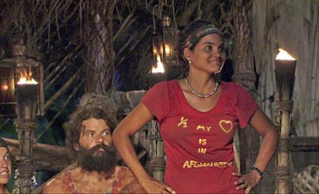 Sandra Shocks the Survivors