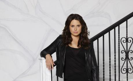 Katie Lowes as Quinn Perkins Season 4 - Scandal