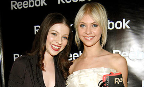 Taylor Momsen, Michelle Trachtenberg and Fancy Footwear