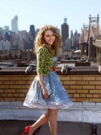 Annasophia robb on the carrie diaries set