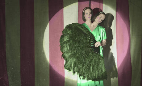 Sarah Paulson as Bette and Dot Tattle - American Horror Story
