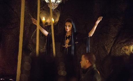 The Ceremony Begins - Arrow Season 3 Episode 20