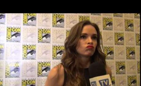 Danielle Panabaker Talks Crossovers, Marriage on The Flash