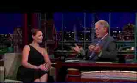 Katherine Heigl on Letterman
