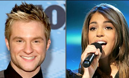 Antonella Barba and Blake Lewis: American Idol Love Connection