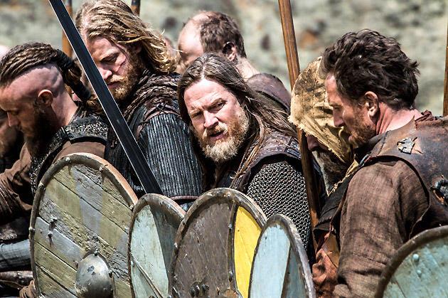 King Horik Awaits the Battle Cry
