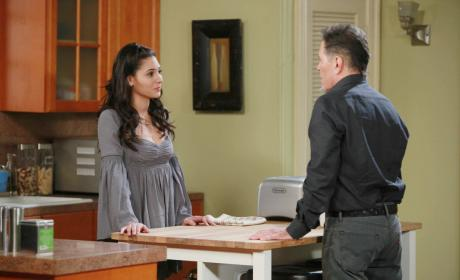 Eduardo Disapproves - Days of Our Lives