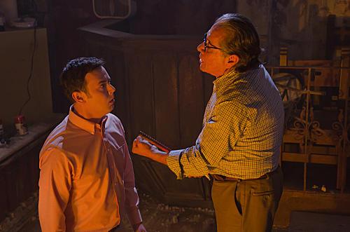 Travis and Professor Gellar
