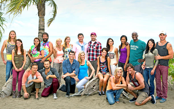Survivor: Blood vs. Water Cast Pic