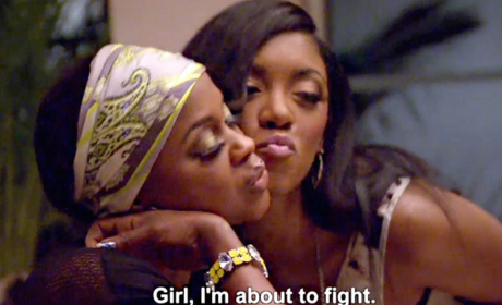Fight on The Real Housewives of Atlanta?