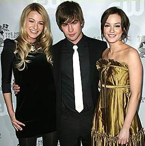 Blake Lively, Chace Crawford, Leighton Meester