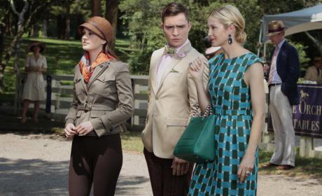 Blair, Lily and Chuck