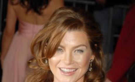 Ellen Pompeo, Fiance at Costume Gala