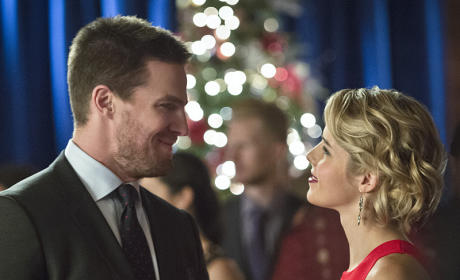 First Couple - Arrow Season 4 Episode 9