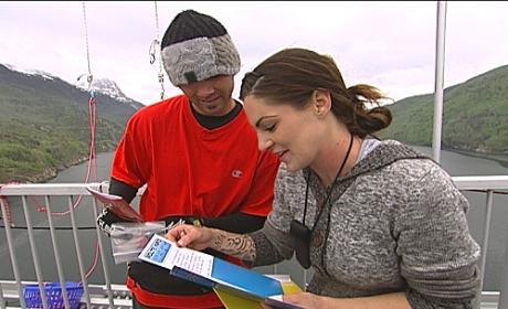 Nick and Vicki Read a Clue