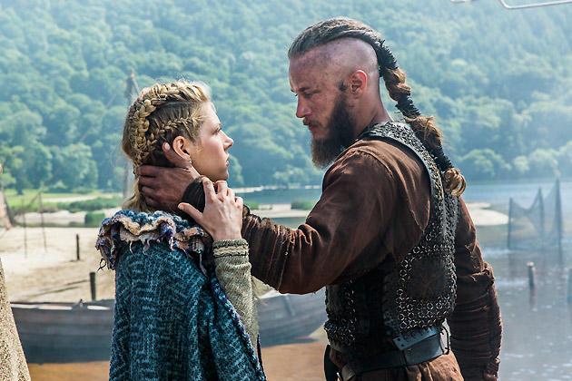 Ragnar and Lagertha Talk