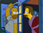 Homer Loves Flanders Picture