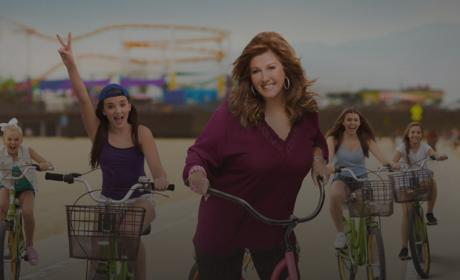 Abby Lee Miller on a Bike - Dance Moms