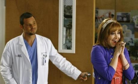 Alex with Izzie's Mother