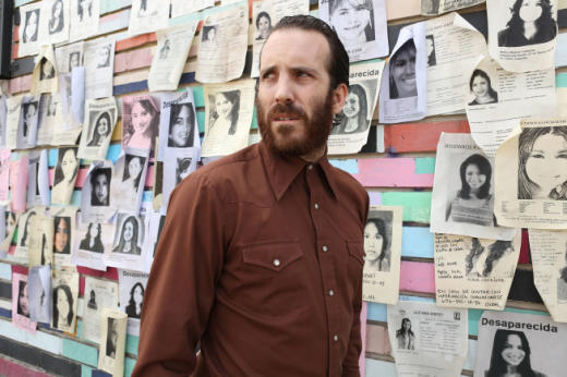 Linder at the Wall of the Missing
