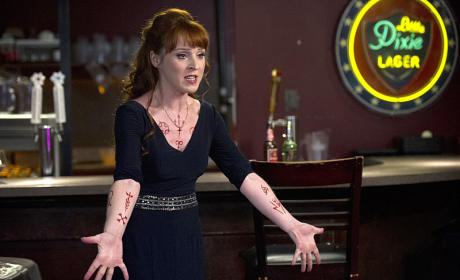 Rowena's Tattoos - Supernatural Season 10 Episode 17
