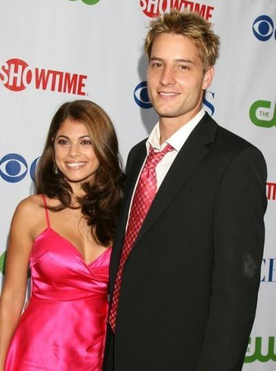 Justin and Lindsay Hartley